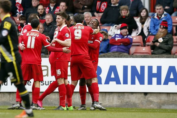 The O's celebrate the winning goal