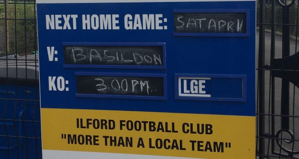 Ilford vs Basildon
