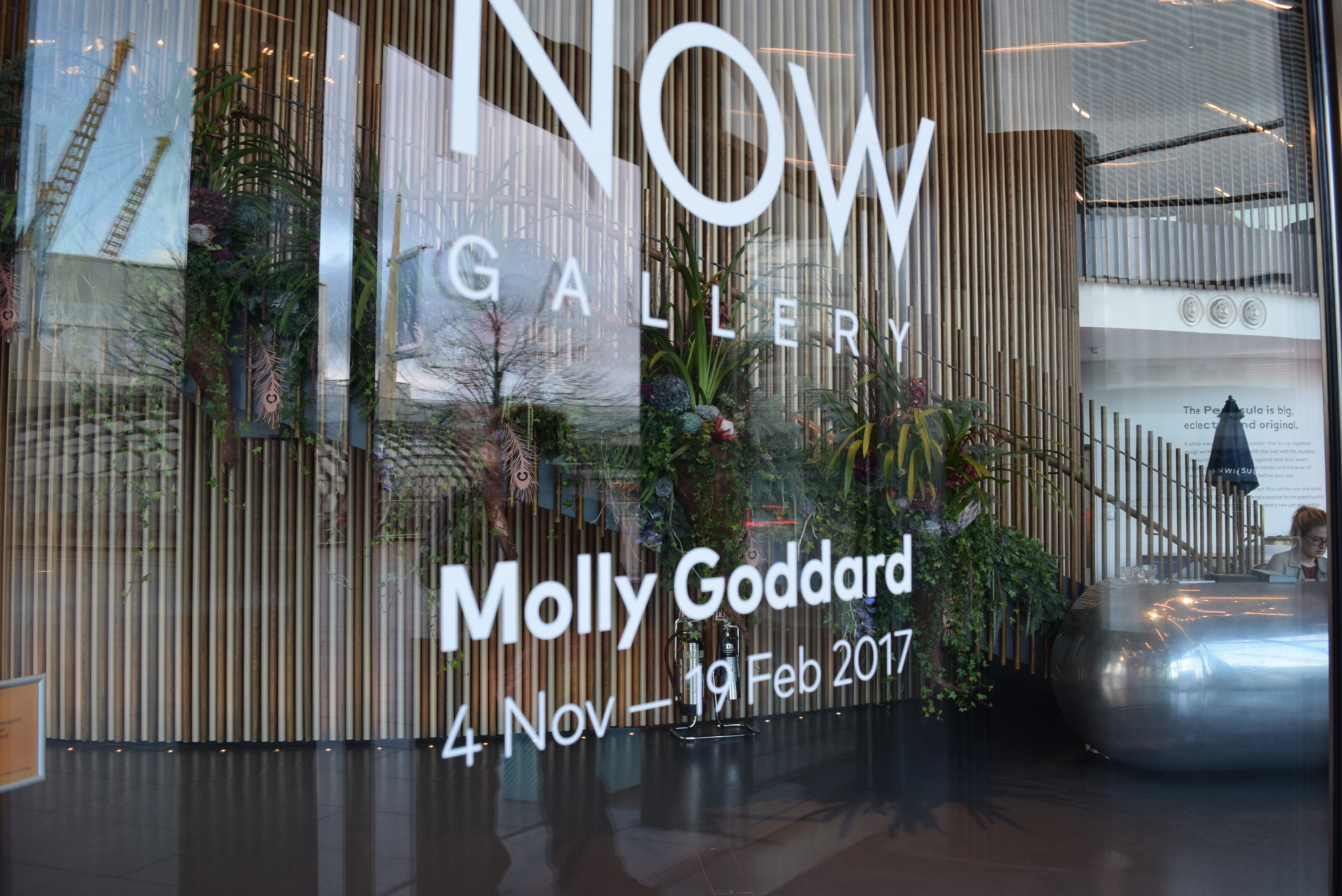 Molly Goddard at Now Gallery