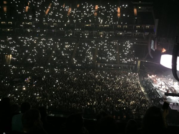 A sold out o2 Arena hosted Bastille.